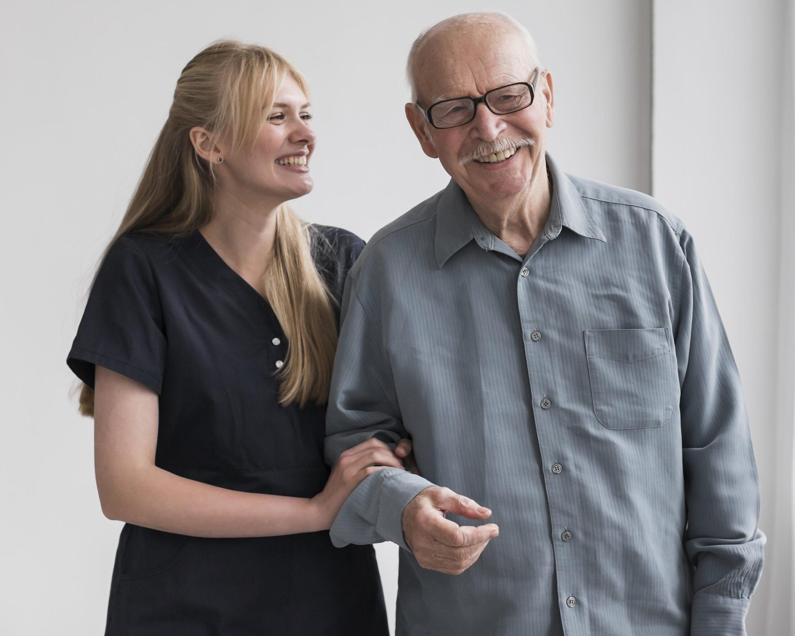 smiley-old-man-nurse